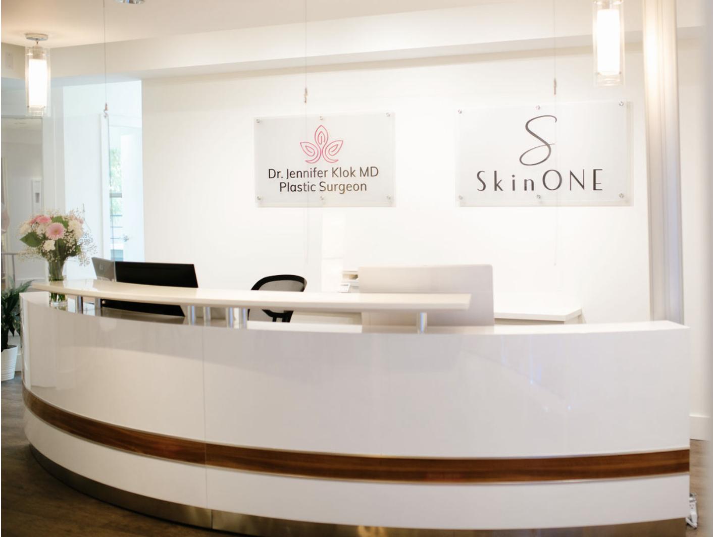 SkinOne Reception, Vancouver BC