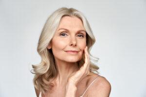 Mature woman, medical aesthetics, SkinOne, Vancouver BC